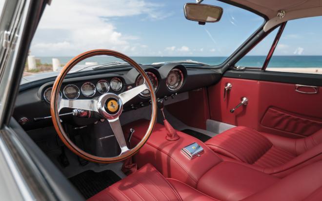 Ferrari 250 GT Lusso red interior