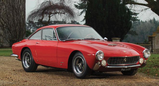 Red Ferrari 250 GT Lusso financing