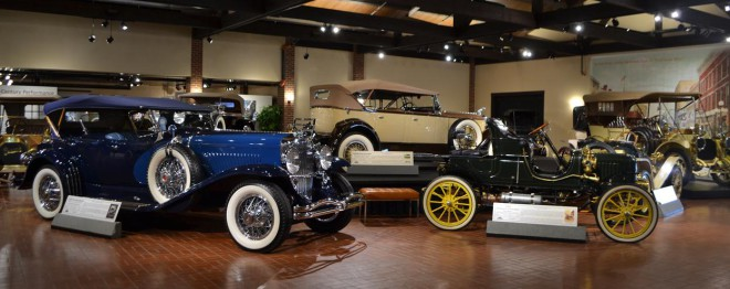 Prewar cars at the Gilmore Car Museum financing