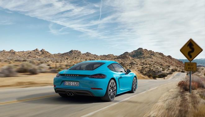 Lease a teal Porsche 718 Cayman