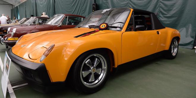 Signal Orange Porsche 914-6 leasing