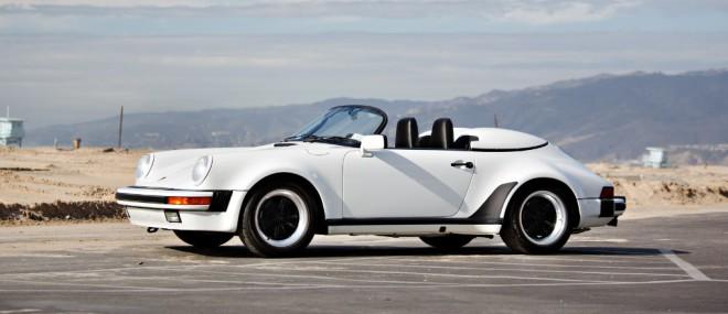 Jerry Seinfeld's white 1989 Porsche 911 Speedster