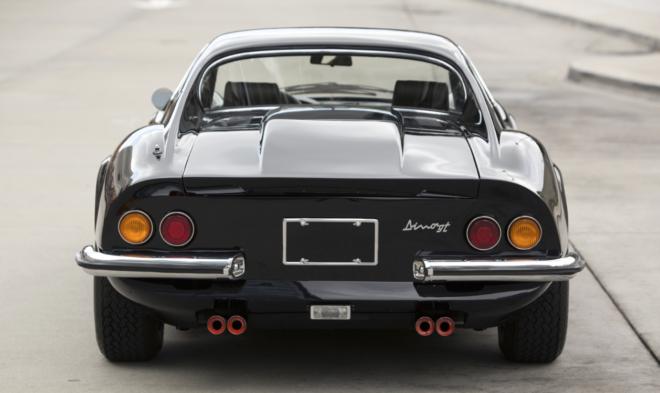 Black 1971 Ferrari Dino 246 GT