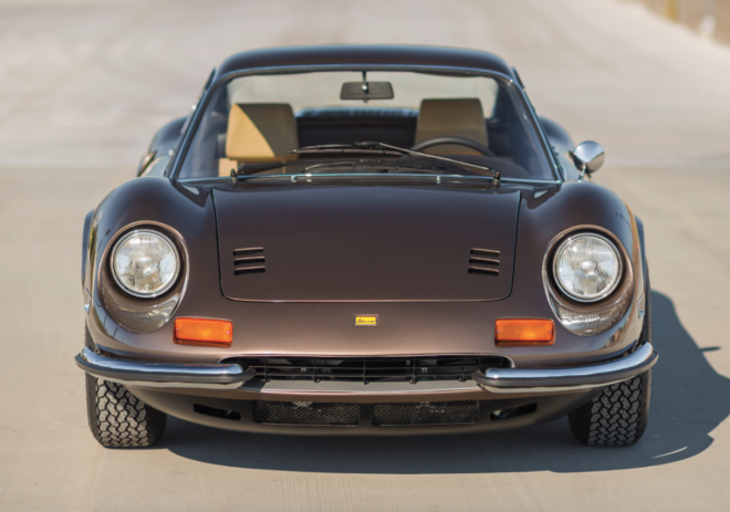 Brown 1973 Ferrari Dino 246 GT financing