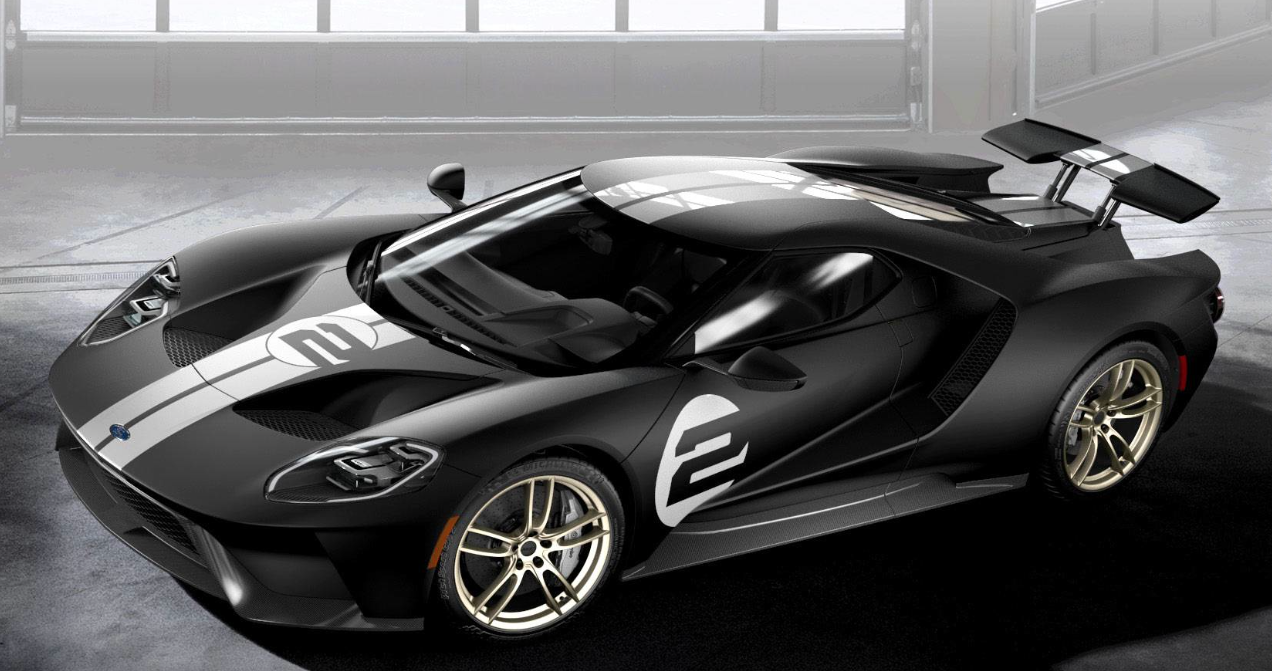 Lease A  Ford Gt Heritage Edition