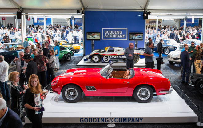 Lease a vintage car from the Gooding & Company auction
