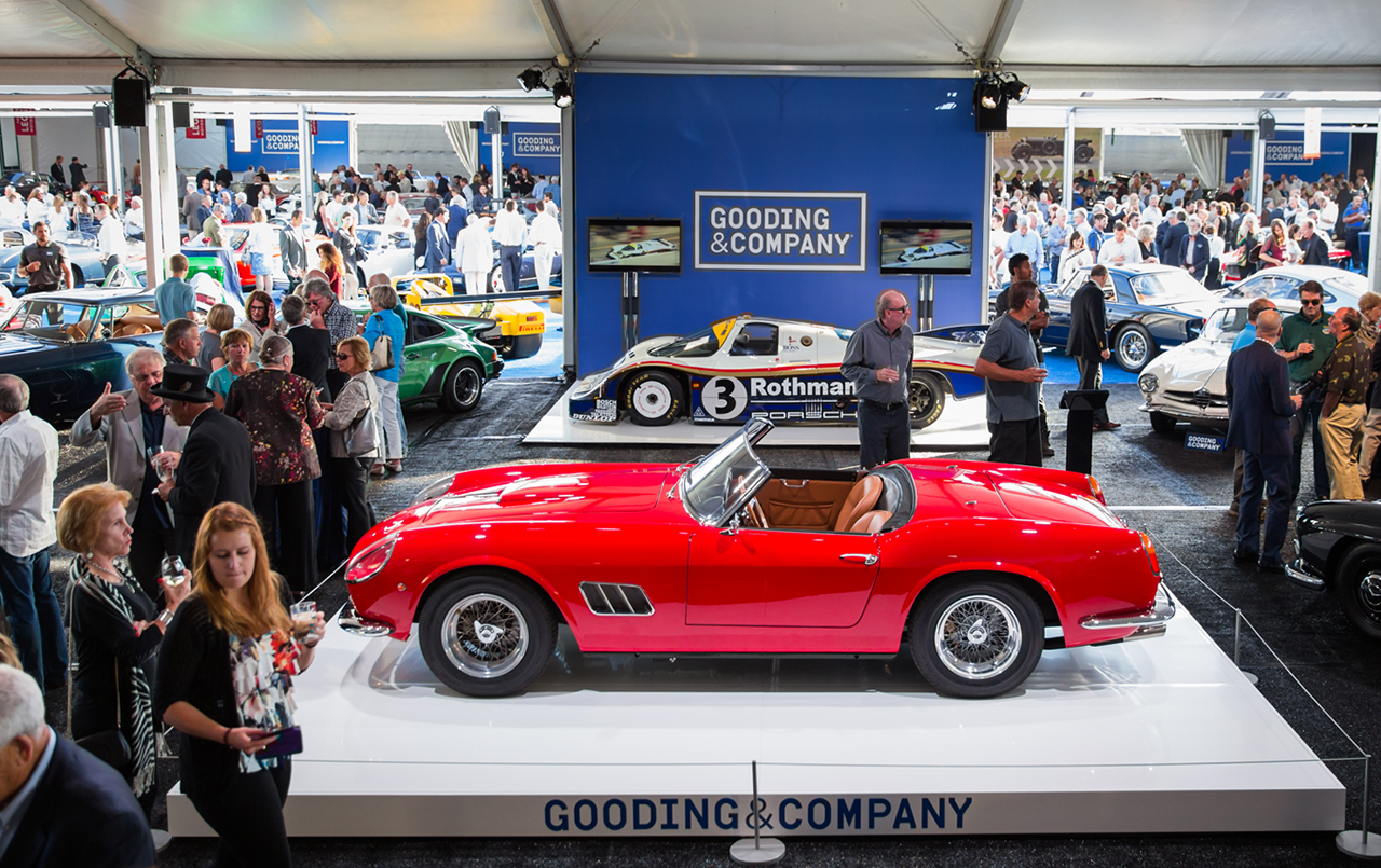 Cars to Watch Gooding  Company Pebble Beach  Premier Financial