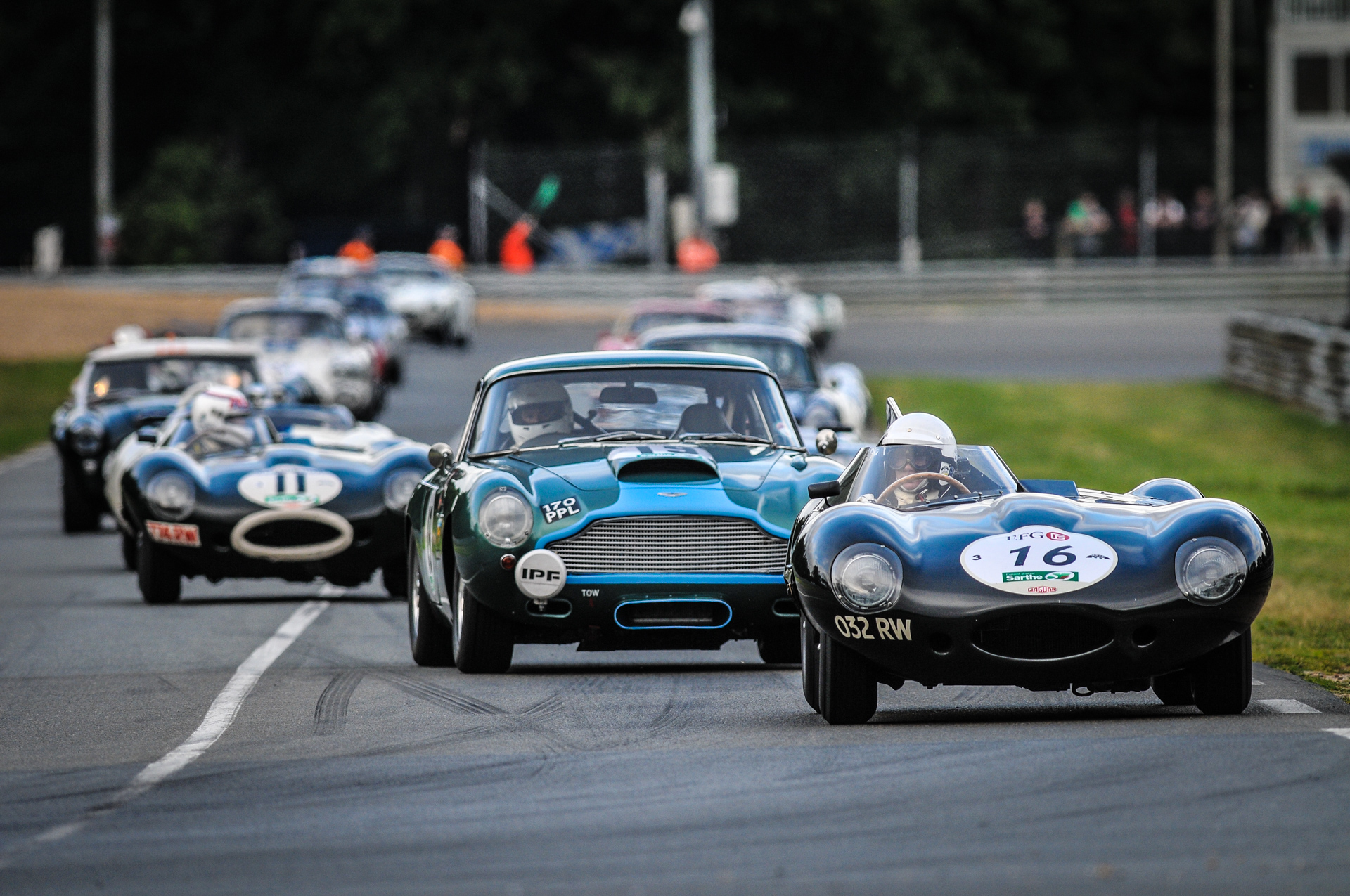 2016 Le Mans Classic Premier Financial Services