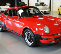 Lease a red Porsche 911 930 Turbo