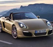 Lease a gold Porsche Boxster