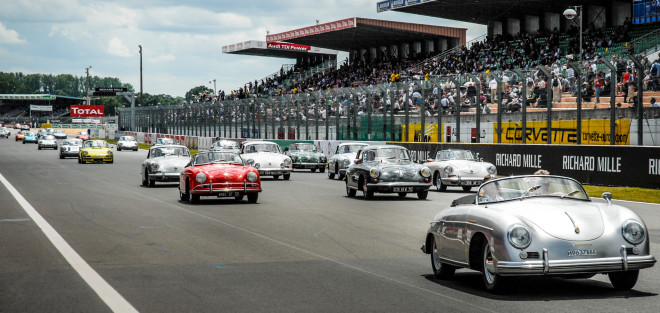 Lease a Porsche 356s at Le Mans