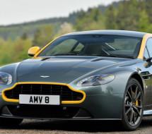 Lease a green Aston Martin Vantage GT