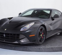 Lease a black Ferrari F12Berlinetta