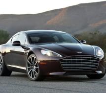 Lease a maroon Aston Martin Rapide