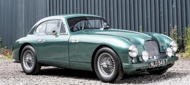 Green Aston Martin DB2 financing