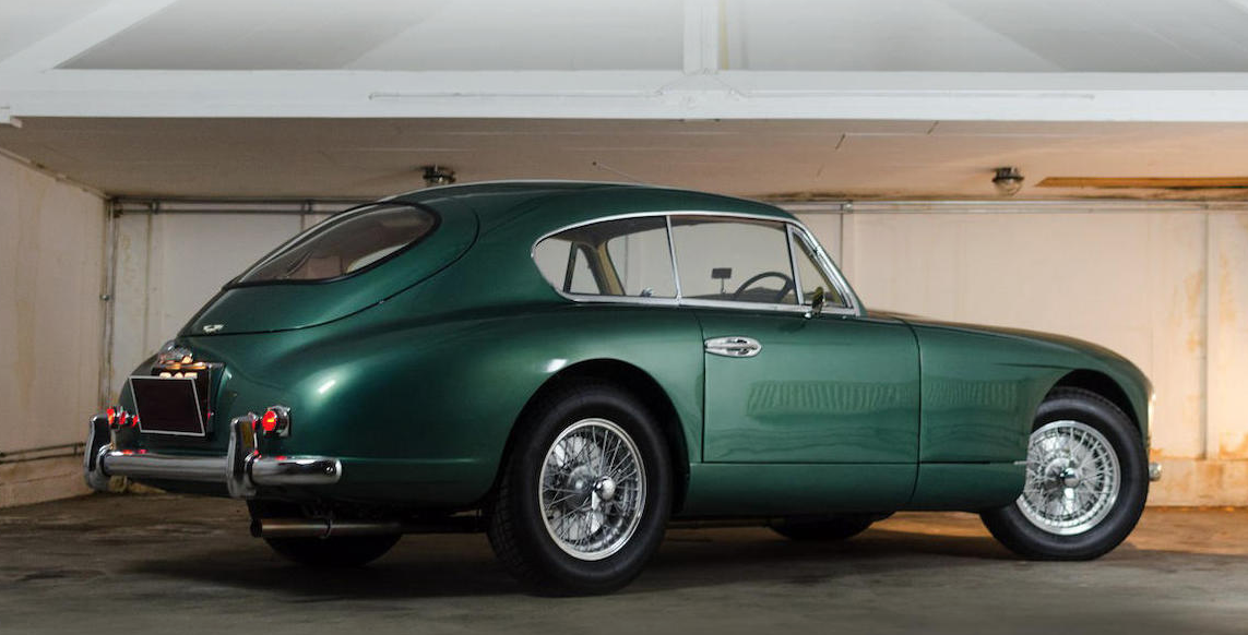 Vintage Corner Aston Martin DB And DB Premier Financial Services - Aston martin db2