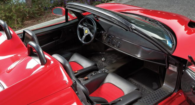 Ferrari F50 top down interior