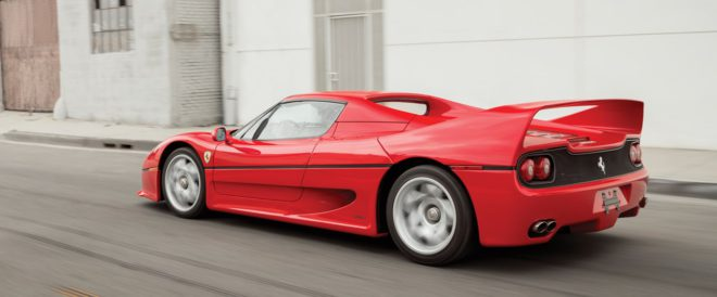 Lease a Ferrari F50 from auction