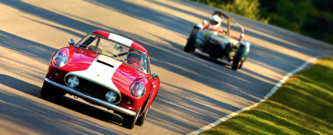 Lease a Ferrari 250 GT racing at Lime Rock