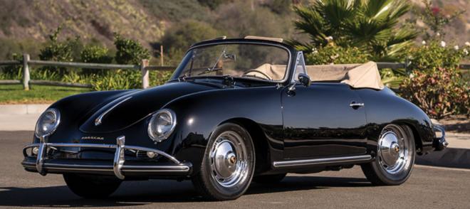 Porsche 356 convertible loan