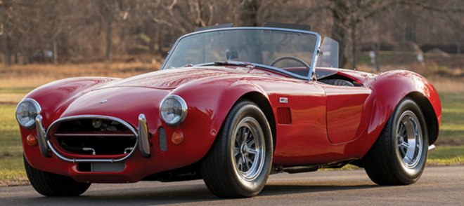 Red Shelby 427 Cobra financing