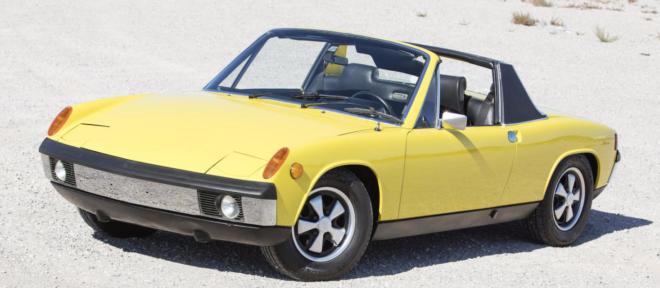 Yellow Porsche 914-6 financing