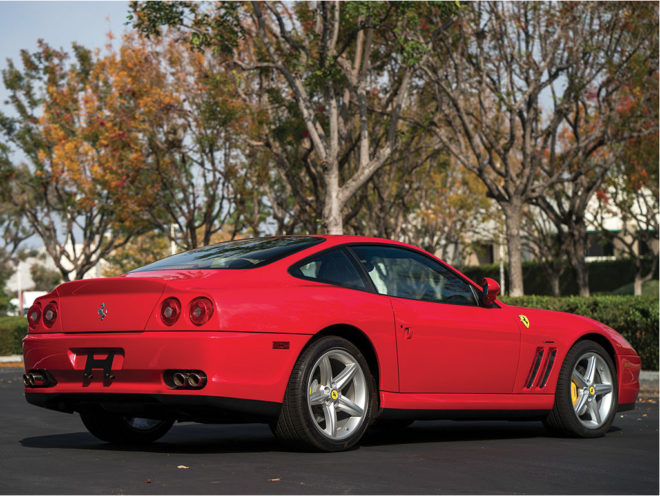 Finance a Ferrari 575M