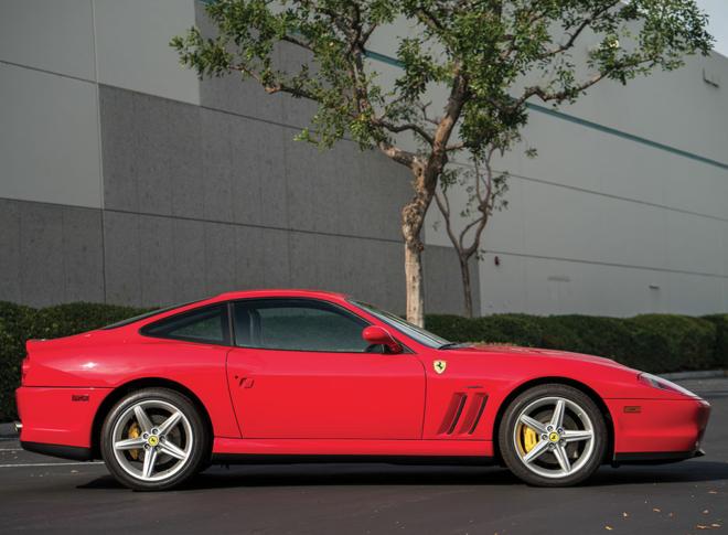 Lease a Ferrari 575M