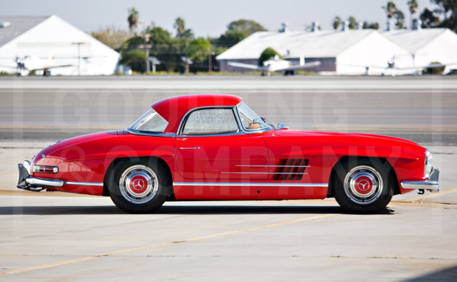 Mercedes-Benz 300 SL Roadster Lease