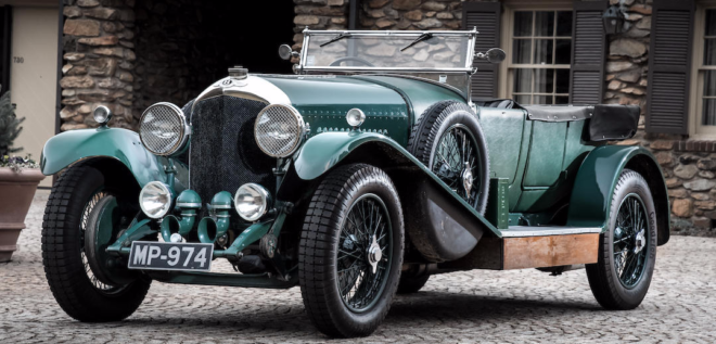 1927 Bentley 4.5 Liter financing