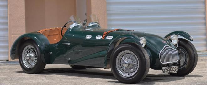 Lease a 1951 Allard J2 roadster