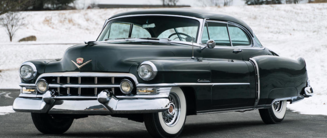 1952 Cadillac Coupe in black