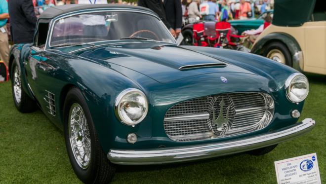 1954 Maserati Zagato Spyder Lease
