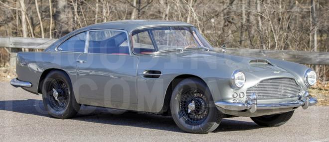 Lease a 1960 Aston Martin DB4