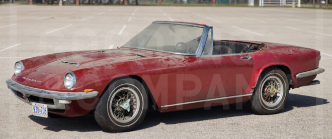 Unrestored 1967 Maserati Mistral Spider