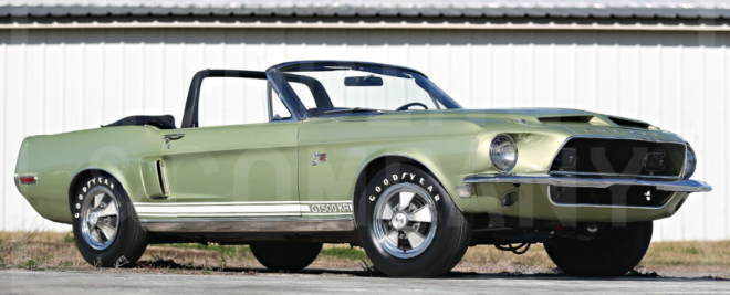 1968 Shelby GT500 King of the Road