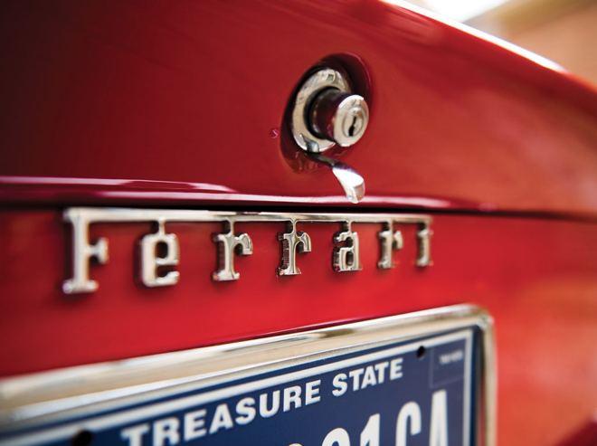 Financing a vintage Ferrari