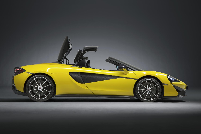 McLaren 570S Spider Lease