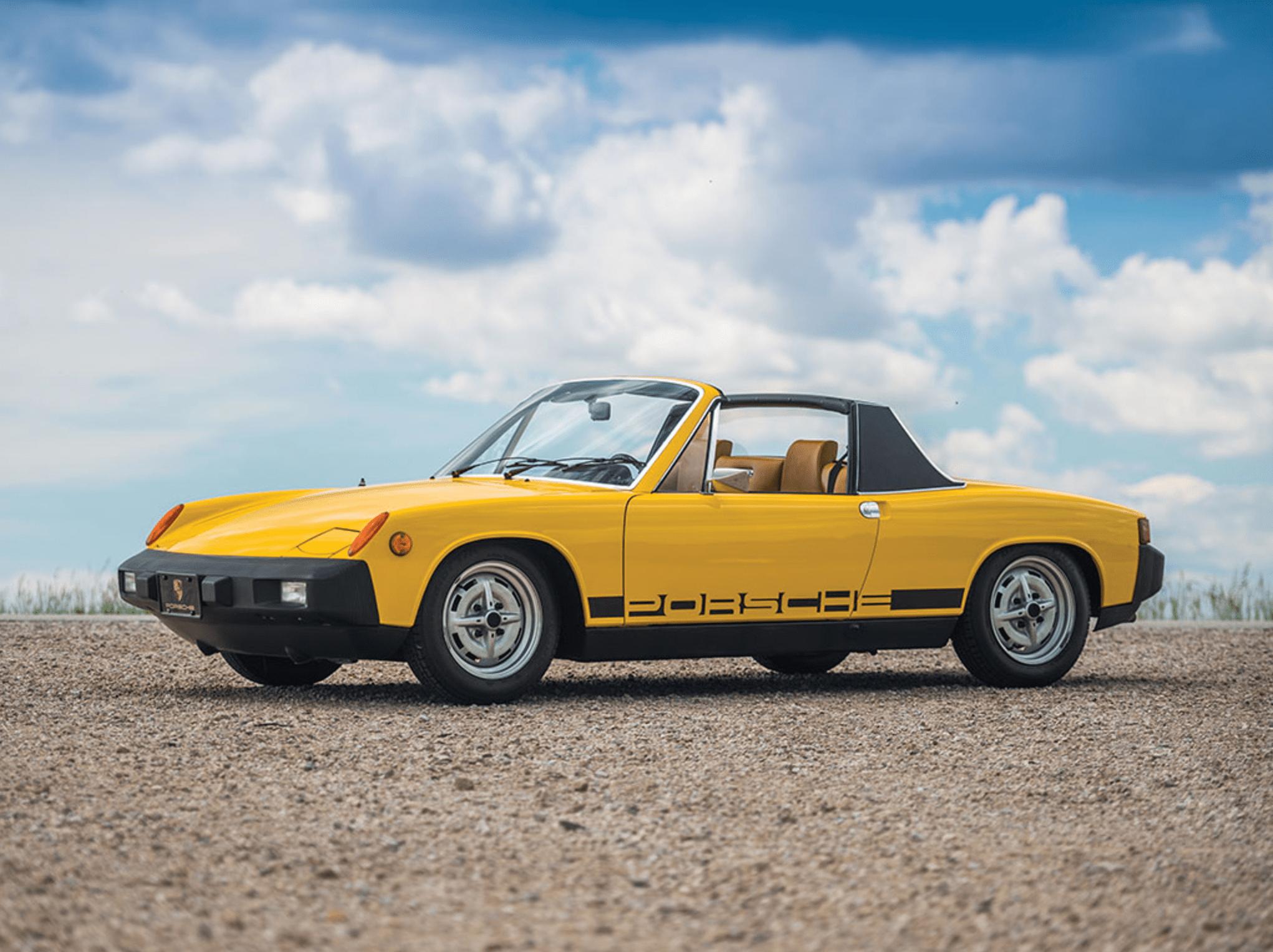 Mclaren Price 2017 >> Model Masterpiece: Porsche 914 | Premier Financial Services