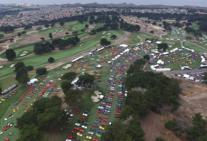 Aerial View of Concorso Italiano