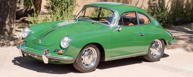 green Porsche 356SC financing