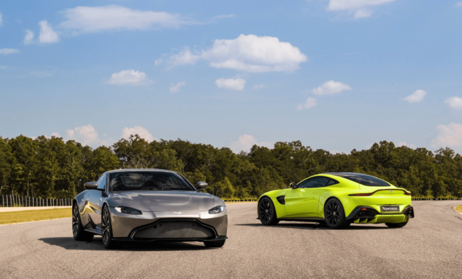 Model Perspective Aston Martin Vantage Premier Financial - Lease aston martin vantage