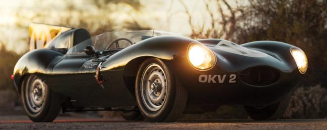 Lease a 1955 Jaguar D-Type