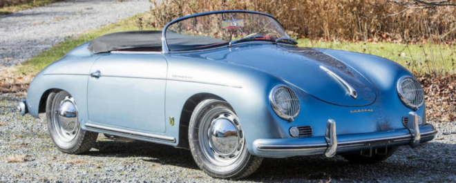 Lease a 1956 Porsche 356 Speedster