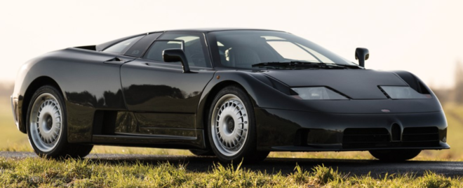 Lease a 1994 Bugatti EB110