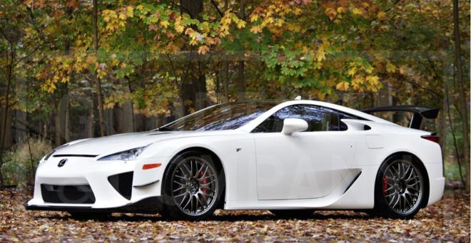 Model Masterpiece: 2012 Lexus LFA Nürburgring | Premier Financial ...
