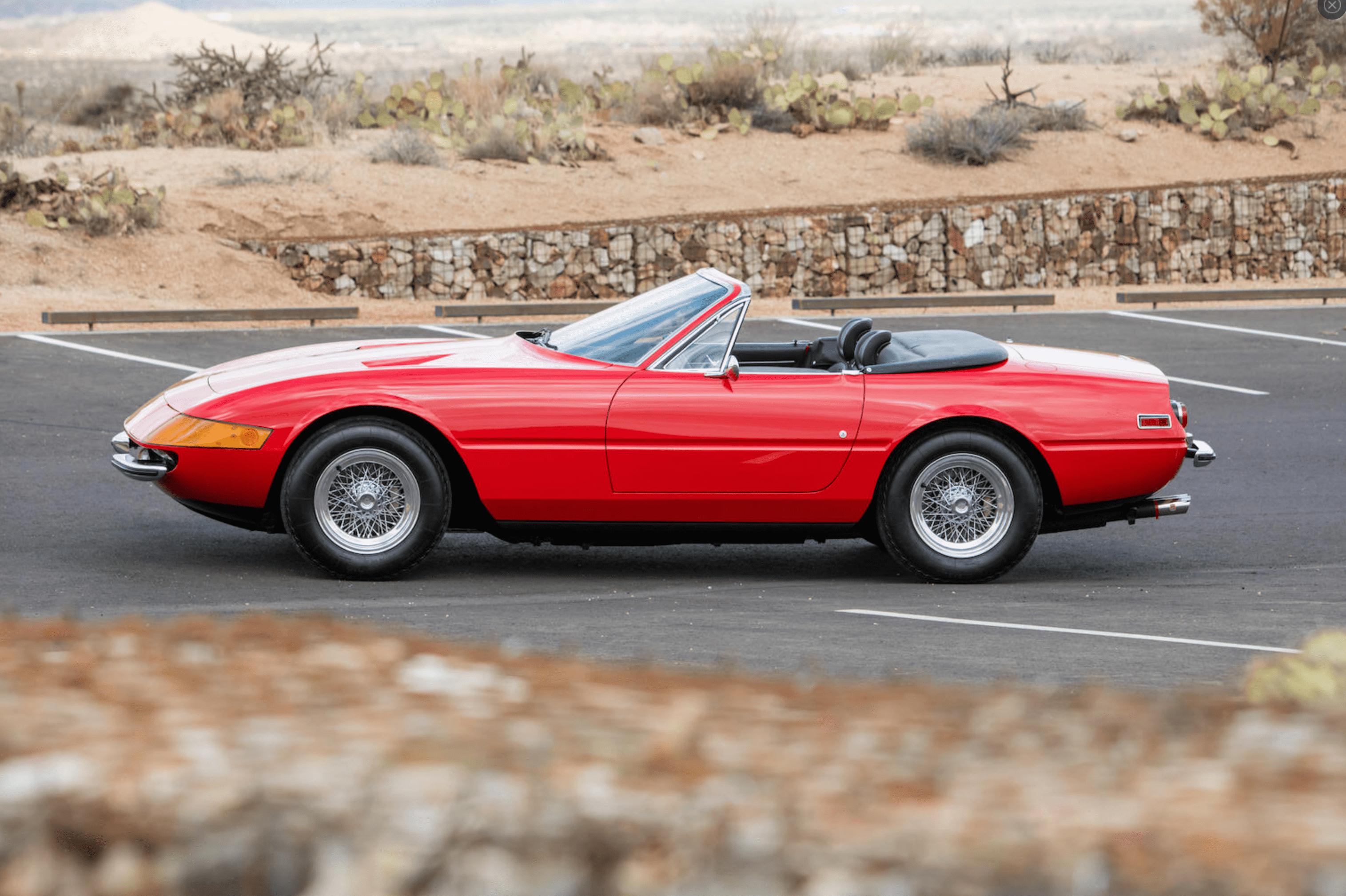 Model Masterpiece Ferrari Daytona Spider Premier