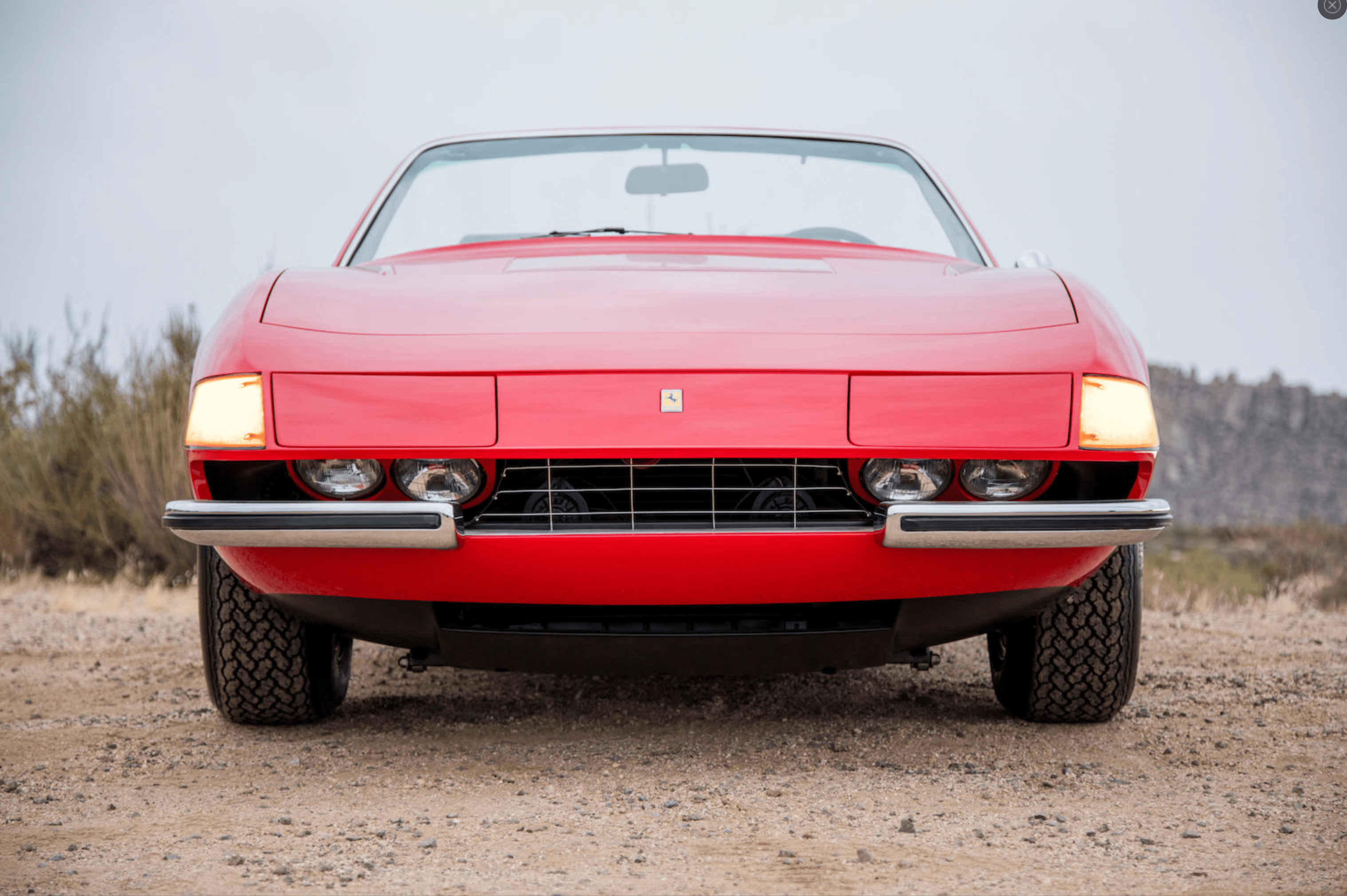 Vintage Ferrari Leasing