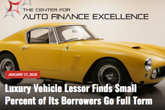Leasing Luxury And Exotic Cars Auto Finance Excellence News 3 Copy1