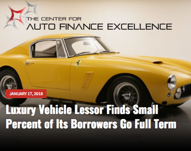 Leasing Luxury and Exotic Cars- Auto Finance Excellence News